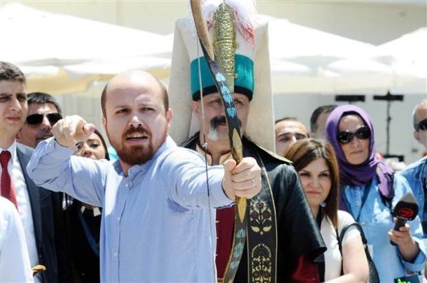 Bilal Erdoğan ok attı 15