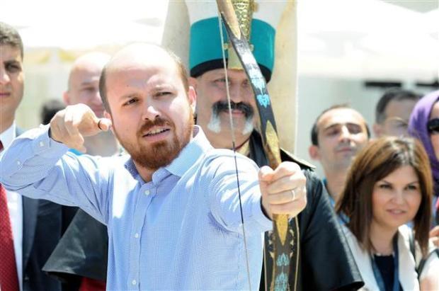 Bilal Erdoğan ok attı 19