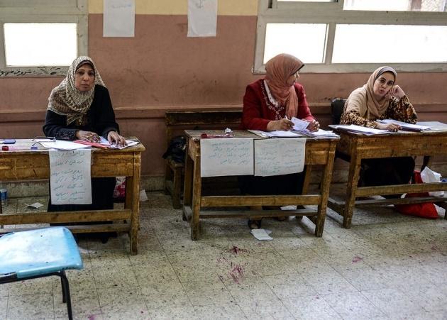Mısır halkı seçimlere ilgisiz kaldı 1