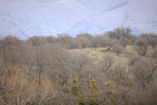 Rus askerler Kırım'a çadır kurdu! 11