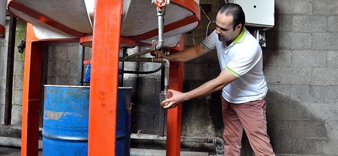 Gazze'de biyodizel üretim 1
