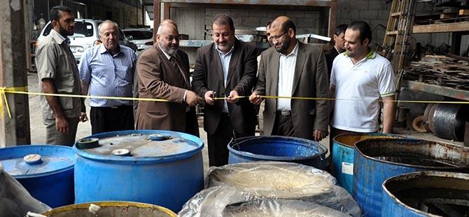 Gazze'de biyodizel üretim 6