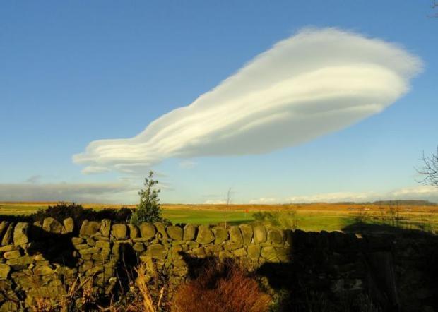 En tuhaf görünümlü bulutlar 14