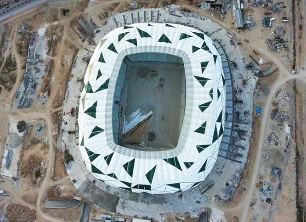 Konya yeni stadı inşaatı bitti 1
