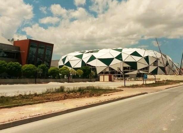 Konya yeni stadı inşaatı bitti 11