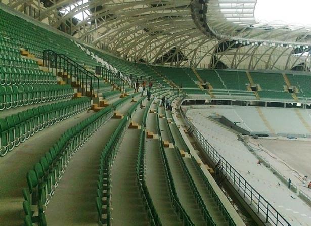 Konya yeni stadı inşaatı bitti 12