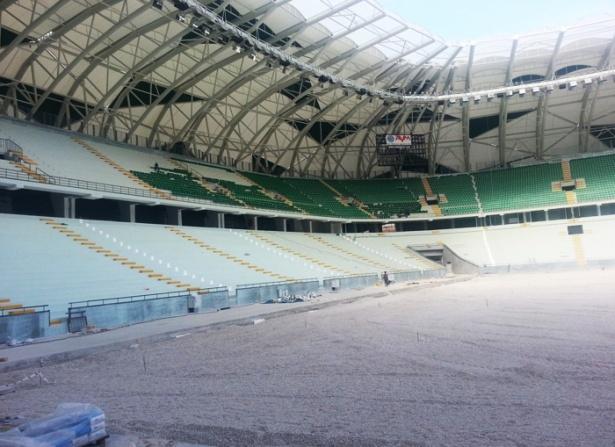 Konya yeni stadı inşaatı bitti 13