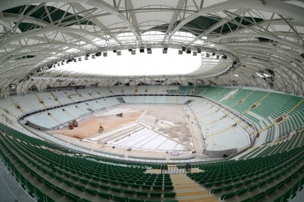 Konya yeni stadı inşaatı bitti 2