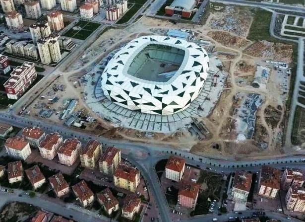 Konya yeni stadı inşaatı bitti 3