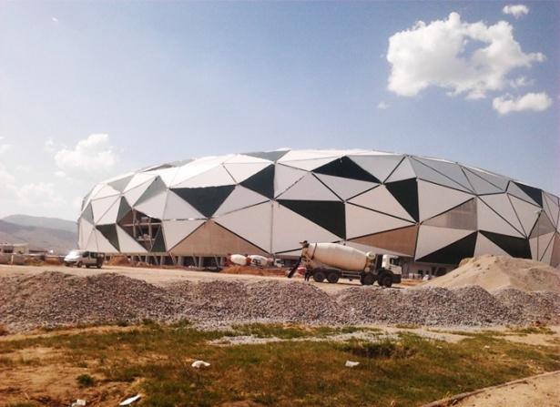 Konya yeni stadı inşaatı bitti 5