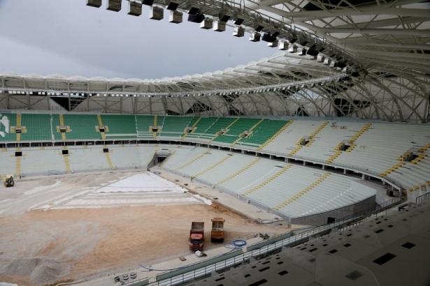 Konya yeni stadı inşaatı bitti 6