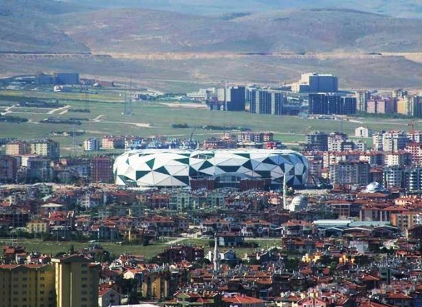 Konya yeni stadı inşaatı bitti 8