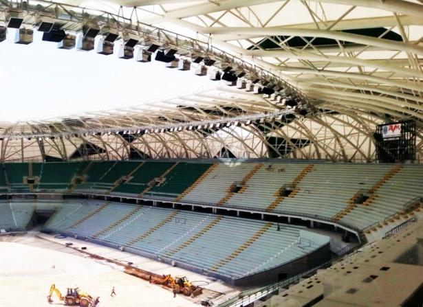 Konya yeni stadı inşaatı bitti 9