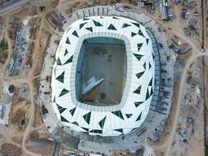 Konya yeni stadı inşaatı bitti