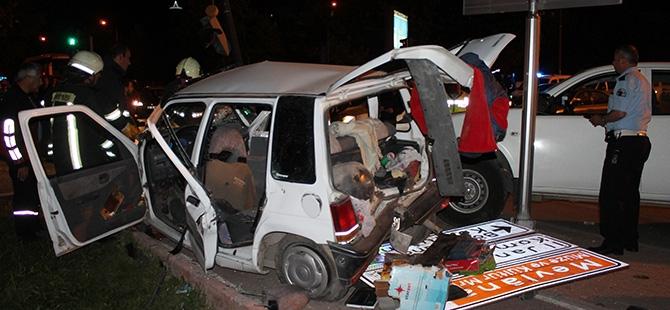 Düğün dönüşü kaza 6