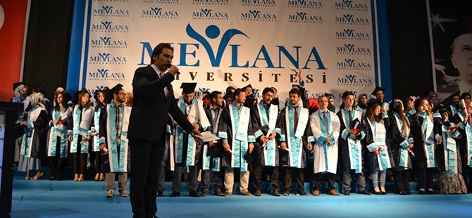 Mevlana Üniversitesi ilk mezunlarını verdi 12