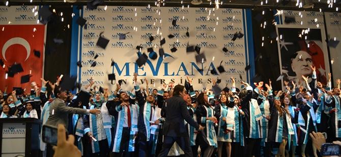 Mevlana Üniversitesi ilk mezunlarını verdi 3