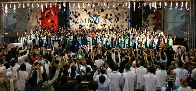 Mevlana Üniversitesi ilk mezunlarını verdi 4
