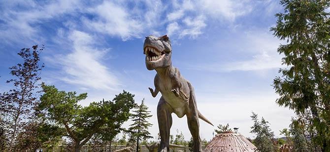 Bozkırın ortasında dinozor sesleri 32