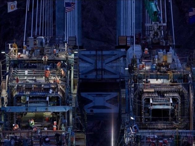 Bir mühendislik şaheseri 'Mega köprü' 19