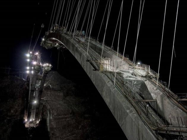 Bir mühendislik şaheseri 'Mega köprü' 23