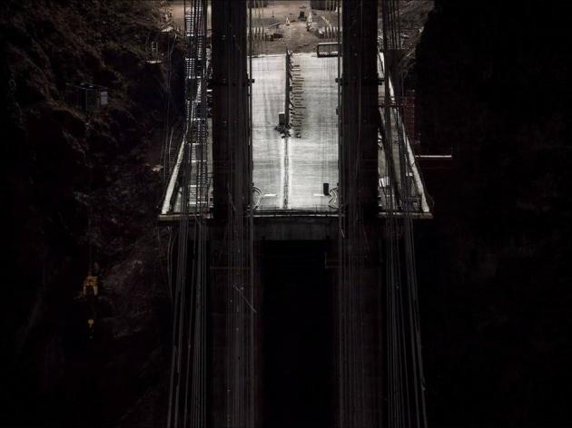 Bir mühendislik şaheseri 'Mega köprü' 24