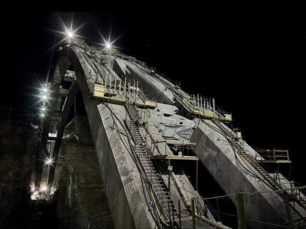 Bir mühendislik şaheseri 'Mega köprü' 26