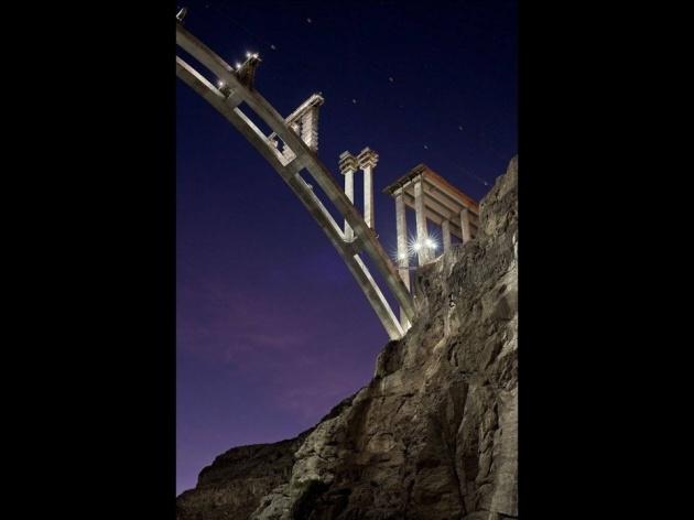 Bir mühendislik şaheseri 'Mega köprü' 29