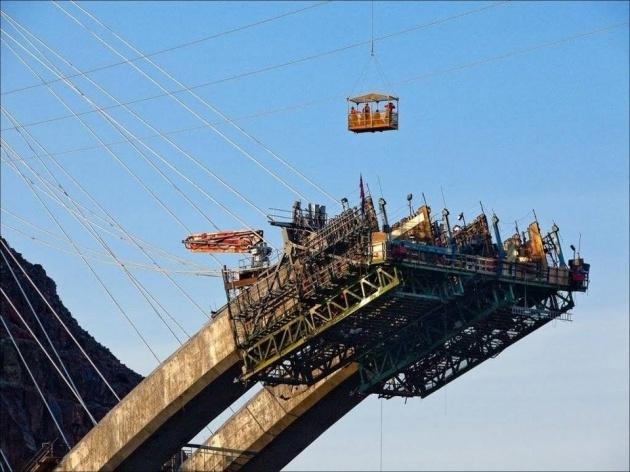 Bir mühendislik şaheseri 'Mega köprü' 4
