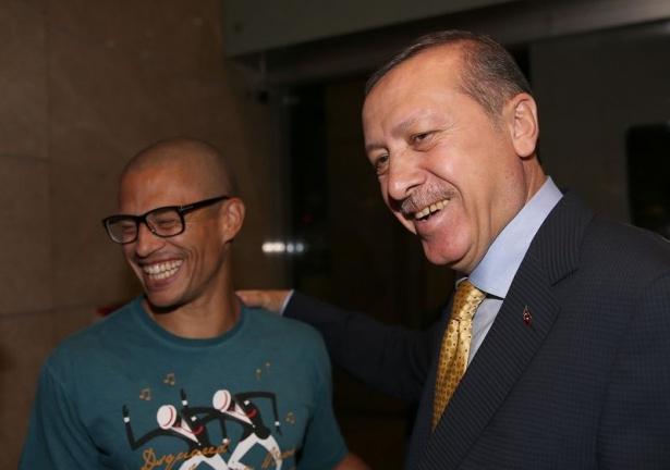 Erdoğan'a havalimanında sürpriz karşılama 4