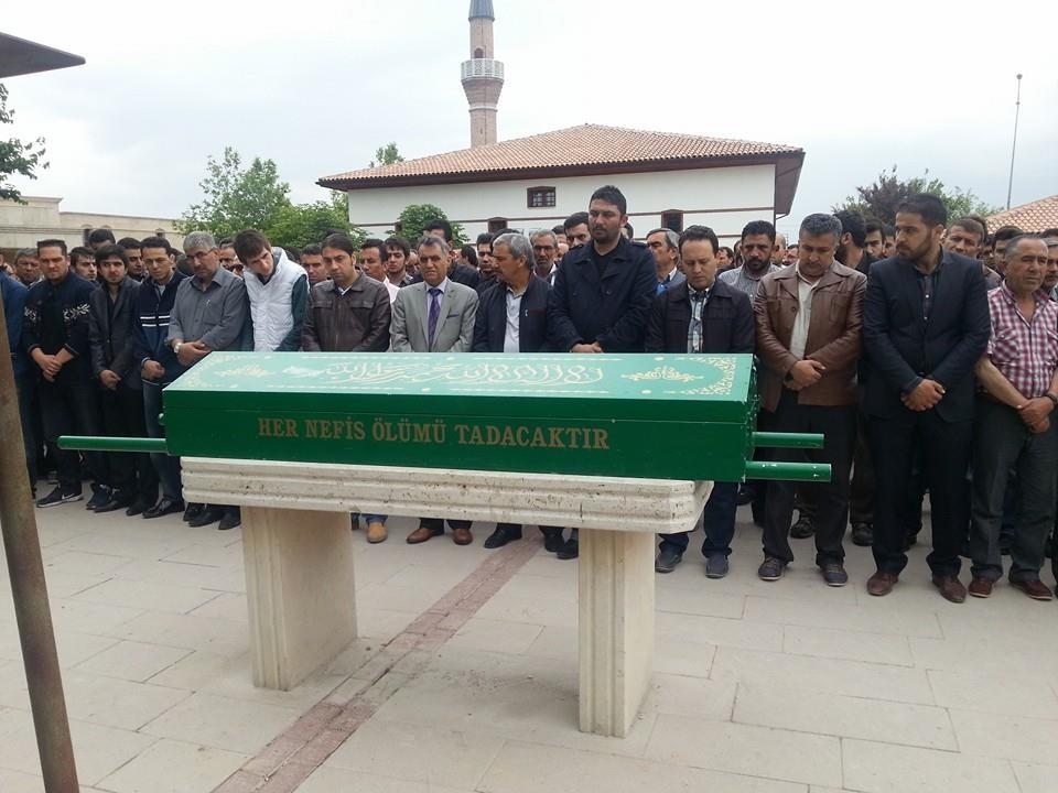 Celaleddin Özdemir'in cenaze töreninden fotoğraflar 12