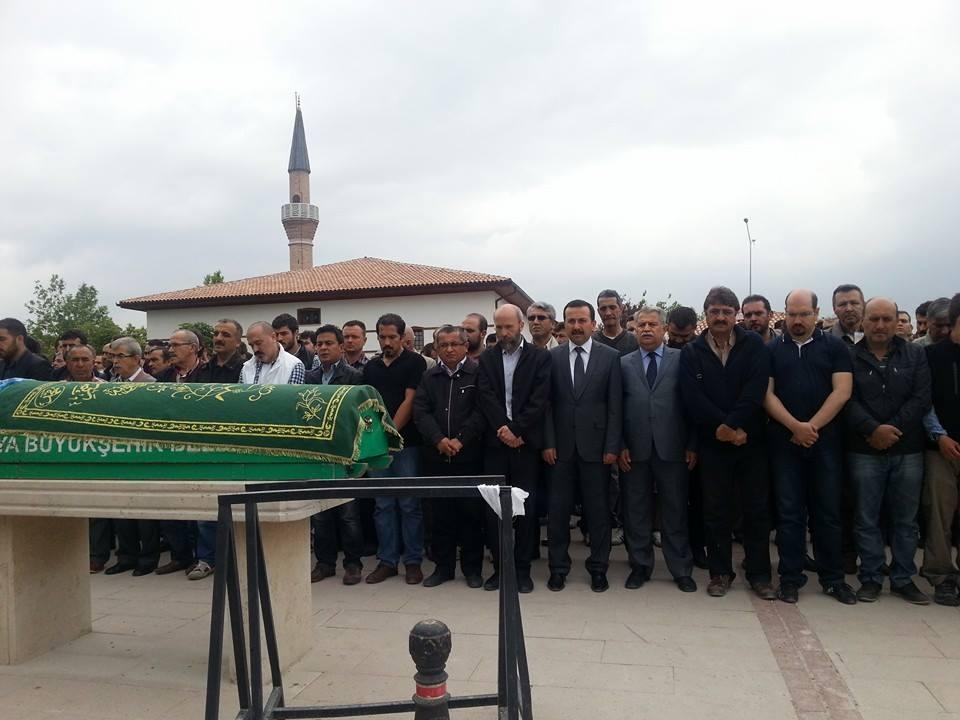 Celaleddin Özdemir'in cenaze töreninden fotoğraflar 16