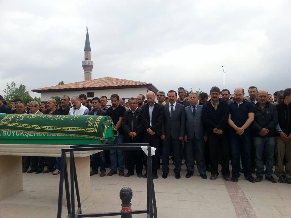 Celaleddin Özdemir'in cenaze töreninden fotoğraflar 8