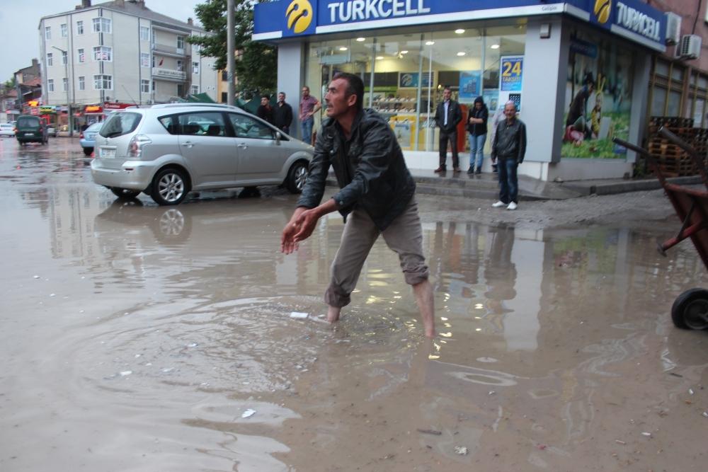 Beyşehir'de su baskınları yaşandı 3