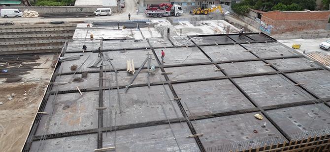 Konevi Meydanında inşaat sürüyor 10