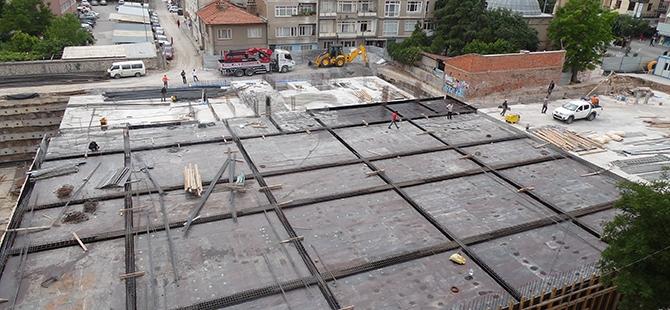 Konevi Meydanında inşaat sürüyor 13