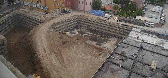 Konevi Meydanında inşaat sürüyor 15