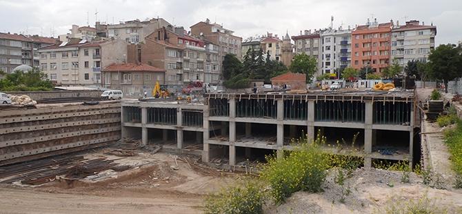 Konevi Meydanında inşaat sürüyor 18