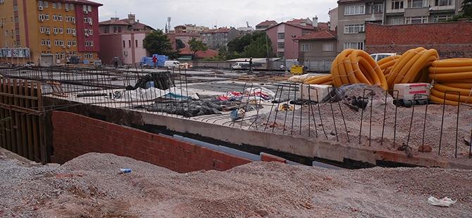 Konevi Meydanında inşaat sürüyor 2