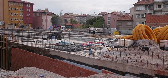 Konevi Meydanında inşaat sürüyor 6