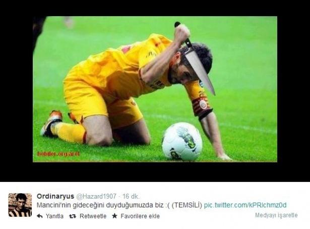 Mancini istifa etti! Twitter yıkıldı 22