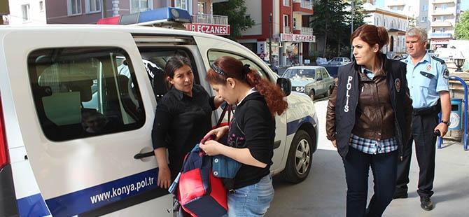 Konya'da fuhuş operasyonu 7