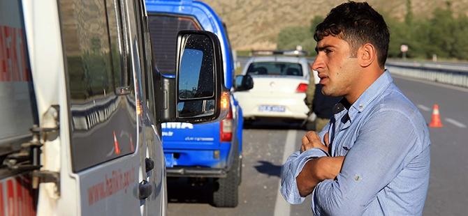 Sivas'ta trafik kazası: 16 yaralı, 1 ölü 1