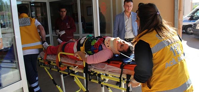 Sivas'ta trafik kazası: 16 yaralı, 1 ölü 8