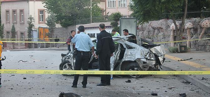 Ankara'da feci kaza: 3 ölü, 2 yaralı 6