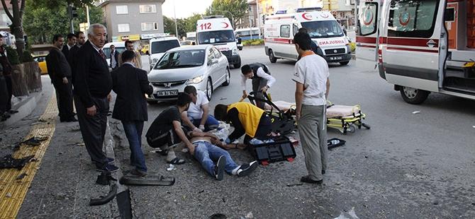 Ankara'da feci kaza: 3 ölü, 2 yaralı 8
