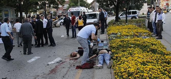 Ankara'da feci kaza: 3 ölü, 2 yaralı 9