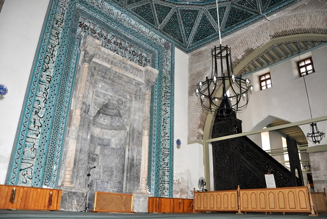 Alaaddin Camisi'nin Restorasyonuna Başlanıyor 11