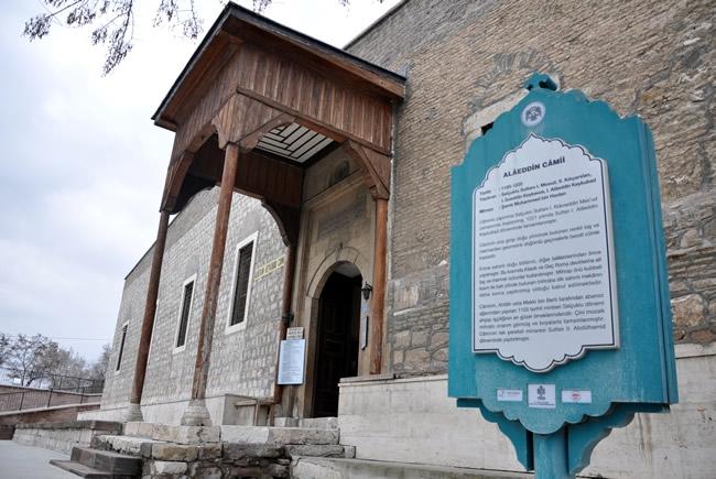 Alaaddin Camisi'nin Restorasyonuna Başlanıyor 3