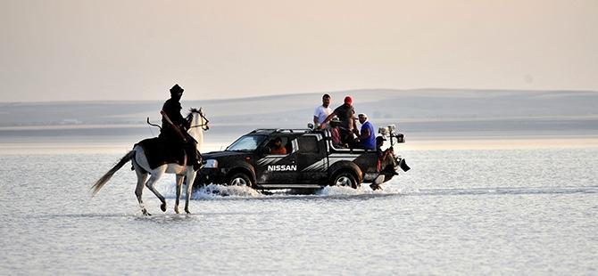 """""""Diriliş""""in fragmanı Tuz Gölü'nde çekildi 10"""